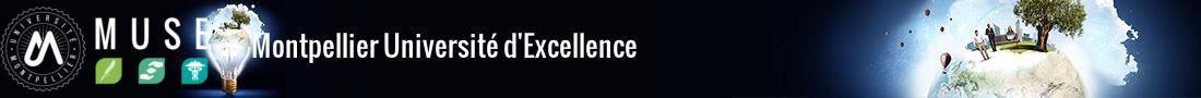 Montpellier Université d'Excellence Logo