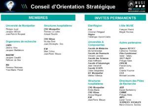 Conseil d'Orientation Stratégique
